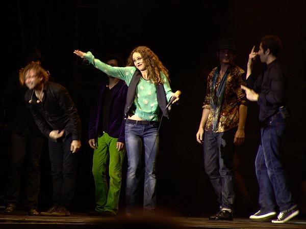 Paléo Festival 2008: Vanessa Paradis, samedi 26 juillet 2008, Grande Scène.