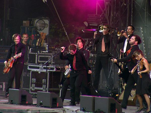 Paléo Festival 2008: Dionysos, dimanche 27 juillet 2008, Grande Scène.