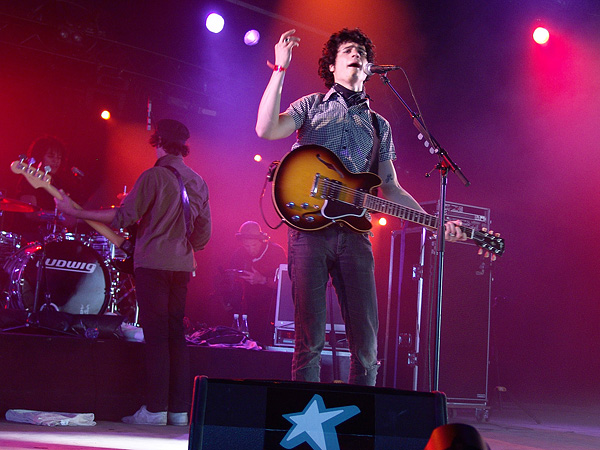 Paléo Festival 2008: BB Brunes, Chapiteau, mardi 22 juillet 2008.
