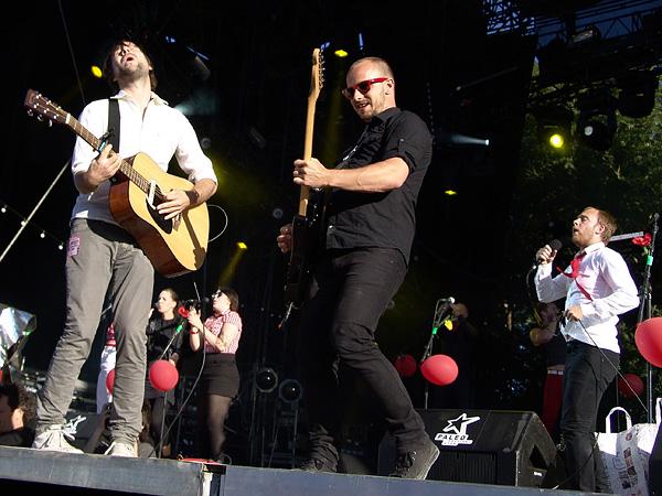 Paléo Festival 2008: I'm from Barcelona, Grande Scène, mercredi 23 juillet 2008.
