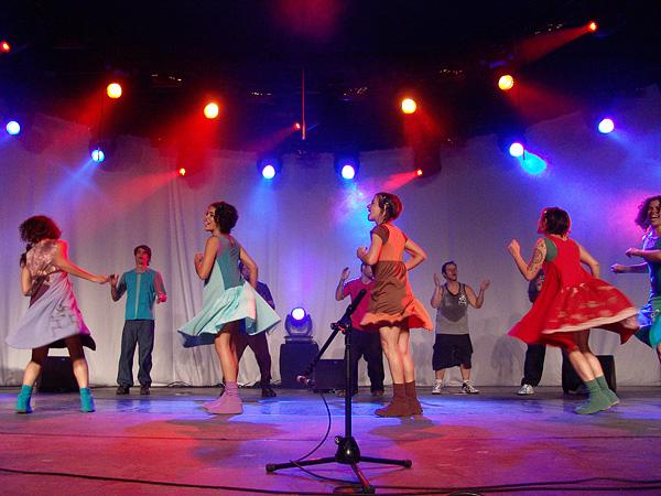 Paléo Festival 2008: Barbatuques, Dôme, mercredi 23 juillet 2008.
