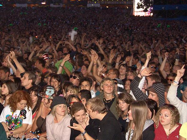 Paléo Festival 2008: Justice, Grande Scène, mercredi 23 juillet 2008.