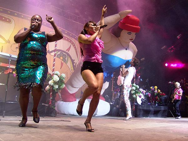 Paléo Festival 2008: Mika, Grande Scène, mercredi 23 juillet 2008.