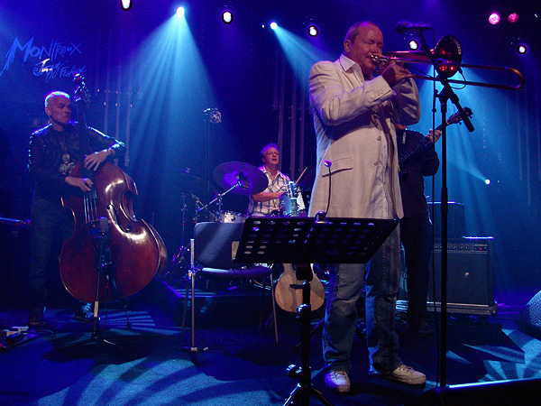 Montreux Jazz Festival 2009: The Swedish ACT Allstars directed by Nils Landgren, July 17, Miles Davis Hall.