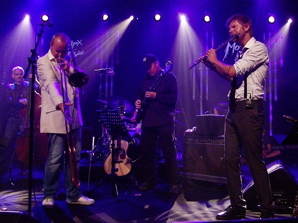 Montreux Jazz Festival 2009: The Swedish ACT Allstars directed by Nils Landgren, July 17, Miles Davis Hall.