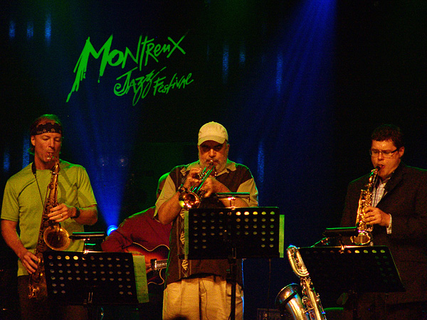 Montreux Jazz Festival 2009: CTI All Stars Band 2009 feat. Creed Taylor, Randy Brecker, Hubert Laws, Bill Evans, Russell Malone, Niels Lan Doky, Mark Egan, Jeff
