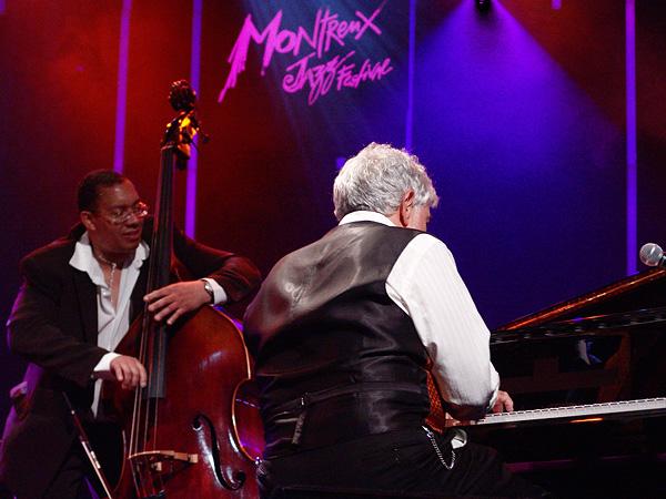 Montreux Jazz Festival 2009, Tribute to Chris Blackwell: Monty Alexander Trio & Harlem Kingston Express, July 10, Auditorium Stravinski.