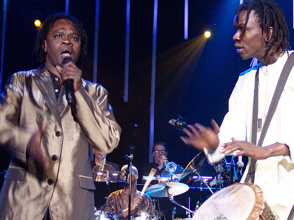 Montreux Jazz Festival 2009, Tribute to Chris Blackwell: Baaba Maal, July 10, Auditorium Stravinski.