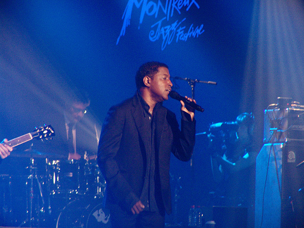 Montreux Jazz Festival 2009, Island's 50th Anniversary: Kenny Babyface Edmonds, July 13, Miles Davis Hall.