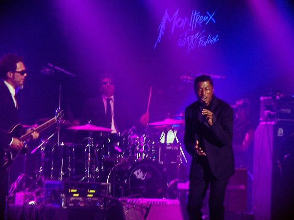 Montreux Jazz Festival 2009, Island's 50th Anniversary: Kenny Babyface Edmonds, July 13, Miles Davis Hall.