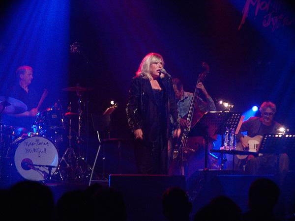 Montreux Jazz Festival 2009, Island's 50th Anniversary: Marianne Faithfull, July 13, Miles Davis Hall.