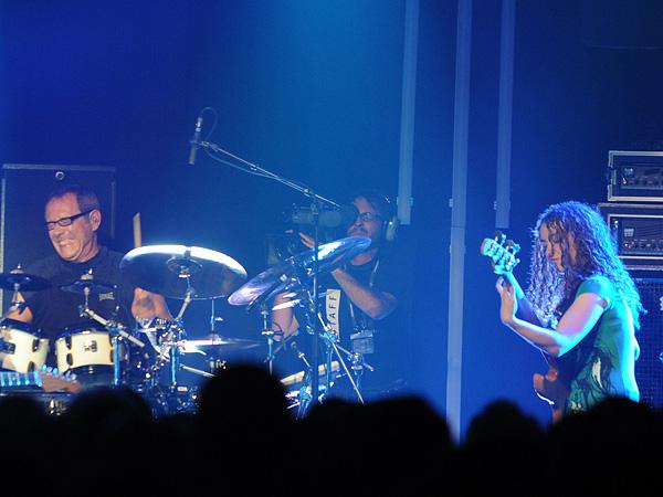Montreux Jazz Festival 2009: Jeff Beck, July 17, Miles Davis Hall. Jeff Beck guitar, Tal Wilkenfeld bass, Jason Rebello keyboards, Vinnie Colaiuta drums.