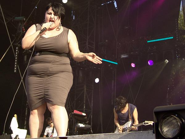 Paléo Festival 2009: Gossip, mardi 21 juillet 2009, Grande Scène.