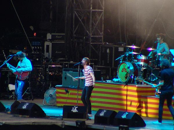 Paléo Festival 2009: Kaiser Chiefs, mardi 21 juillet 2009, Grande Scène.