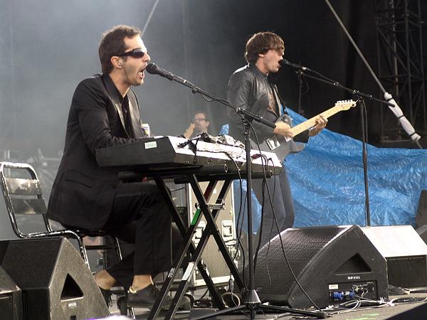 Paléo Festival 2009: Ghinzu, mercredi 22 juillet 2009, Grande Scène.