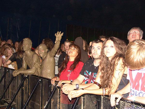 Paléo Festival 2009: The Young Gods play Woodstock, mercredi 22 juillet 2009, Chapiteau.