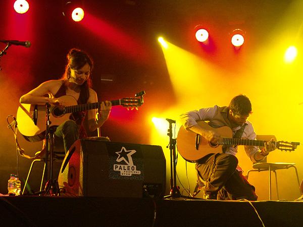 Paléo Festival 2009: Rodrigo y Gabriela, jeudi 23 juillet 2009, Chapiteau.