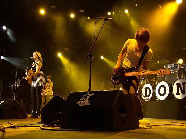Paléo Festival 2009: Amy MacDonald, jeudi 23 juillet 2009, Grande Scène.