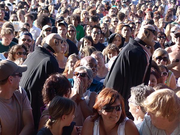 Ambiances de Paléo 2009, Nyon, 21-26 juillet.