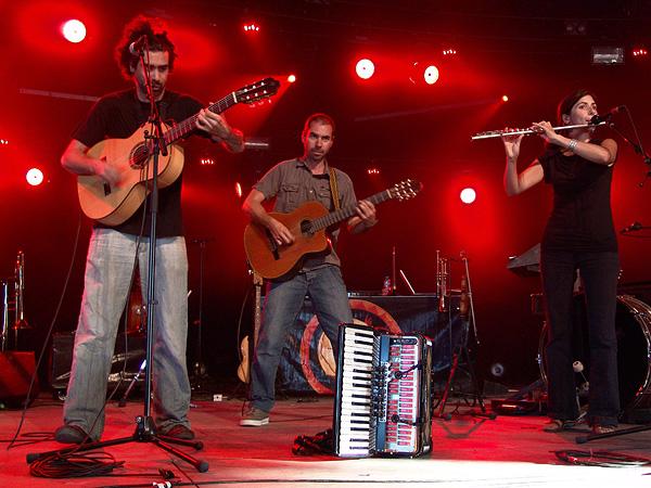 Paléo Festival 2009: Les Ogres de Barback, samedi 25 juillet 2009, Chapiteau.