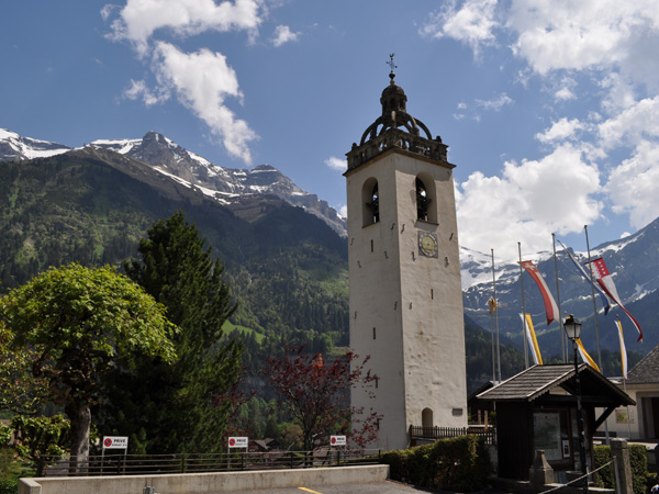 Champéry, Val-d'Illiez, juin 2010.