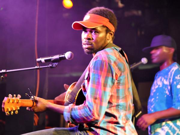Montreux Jazz Festival 2010: Féfé (reggae hip-hop from France), July 2, Montreux Jazz Café. One of the founders of Saïan Supa Crew back in 1997.