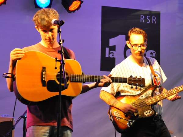Montreux Jazz Festival 2010: Fanfarlo (folk pop rock from UK), July 3, Showcase at RSR Stage.