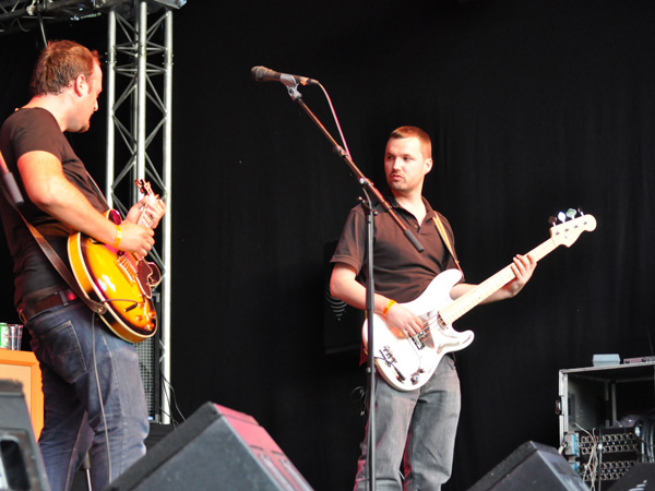 Montreux Jazz Festival 2010: The Crags (rock from Switzerland), July 3, Music in the Park (Parc Vernex).