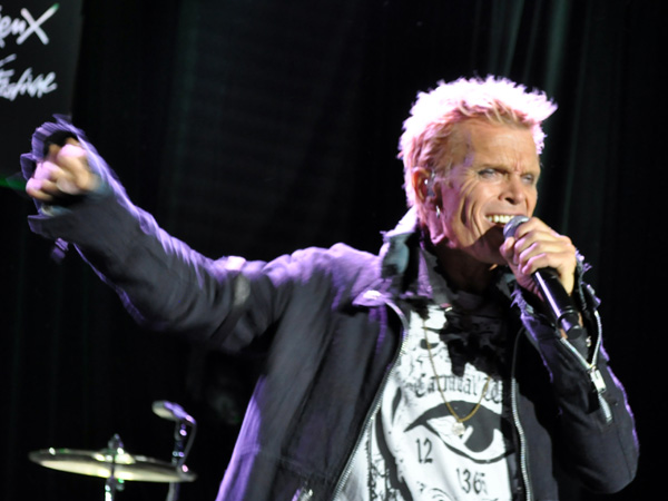 Montreux Jazz Festival 2010: Billy Idol, July 6, Auditorium Stravinski.