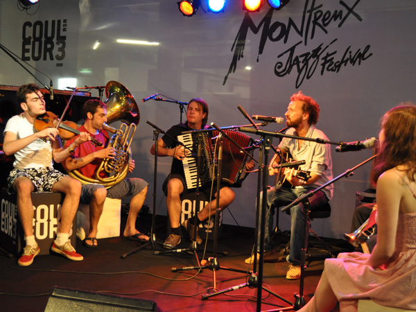 Montreux Jazz Festival 2010: Shantel, July 6, Showcase at RSR Stage.