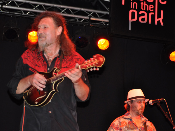Montreux Jazz Festival 2010: Kukuruza (rock and country music from Russia), July 7, Music in the Park (Parc Vernex).