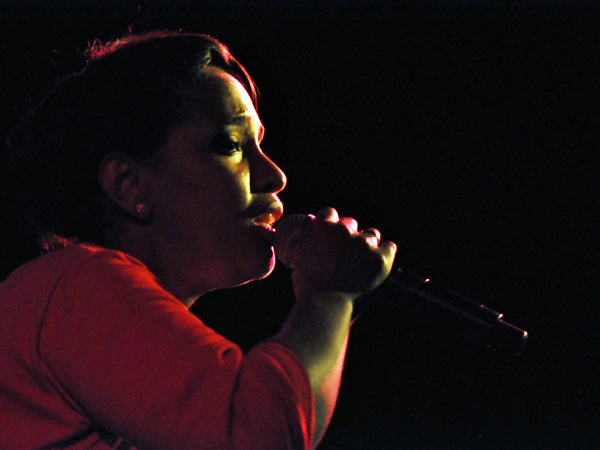 Montreux Jazz Festival 2010: Auriol Hays (alternative pop from South Africa), July 9, Music in the Park (Parc Vernex).