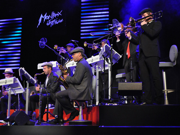 Montreux Jazz Festival 2010: Roger Cicero Big Band, July 12, Auditorium Stravinski.