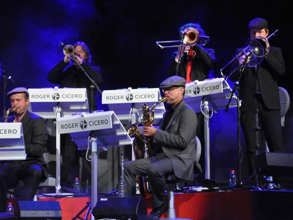 Montreux Jazz Festival 2010: Roger Cicero Big Band, July 12, Auditorium Stravinski.