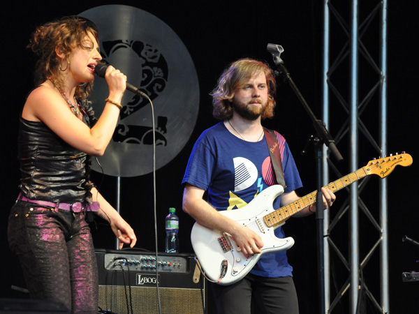Montreux Jazz Festival 2010: Big Fat Mama (disco rock from Poland), July 12, Music in the Park (Parc Vernex).