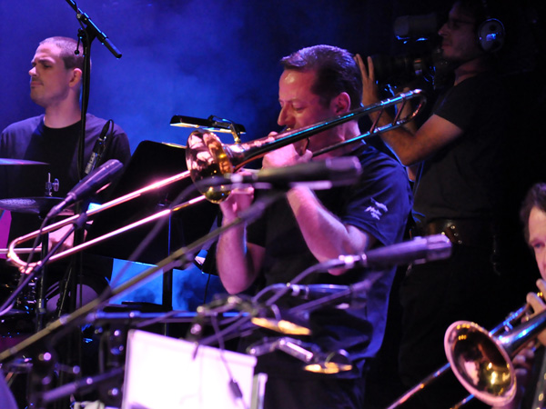 Montreux Jazz Festival 2010: Pepe Lienhard & the Swiss Army Big Band, July 12, Auditorium Stravinski.