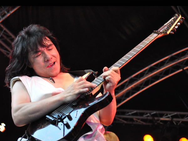 Montreux Jazz Festival 2010: Bronze Dou Shin (prog rock from Japan), July 13, Music in the Park (Parc Vernex).