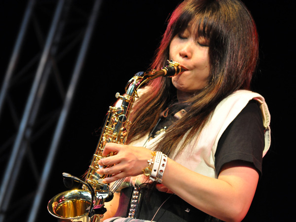 Montreux Jazz Festival 2010: Bronze Dou Shin (prog rock from Japan), July 13, Music in the Park (Parc Vernex).