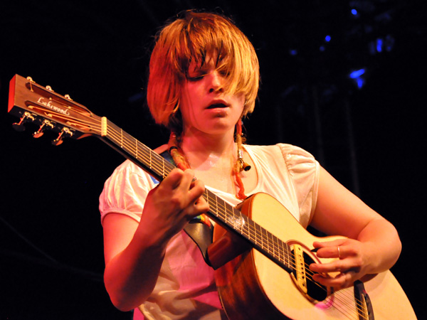Montreux Jazz Festival 2010: Wallis Bird (singer-songwriter from Ireland), July 15, Music in the Park (Parc Vernex).