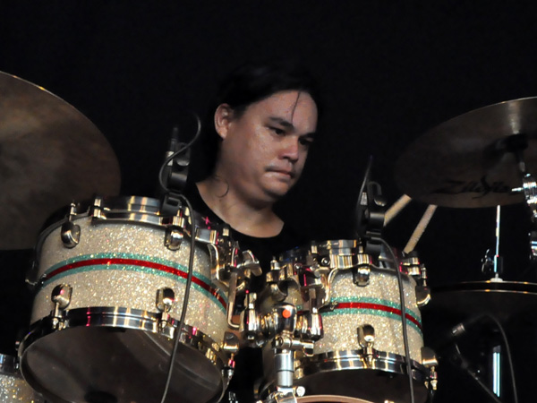 Montreux Jazz Festival 2010: Maruao (rhythm'n'soul from Tahiti), July 16, Music in the Park (Parc Vernex).