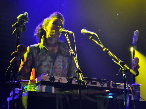 Montreux Jazz Festival 2010: Oy (alternative pop from Switzerland), July 17, Miles Davis Hall.