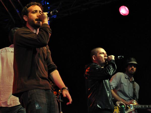 Montreux Jazz Festival 2010: Breitbild (mundart rap from Switzerland), July 17, Music in the Park (Parc Vernex).
