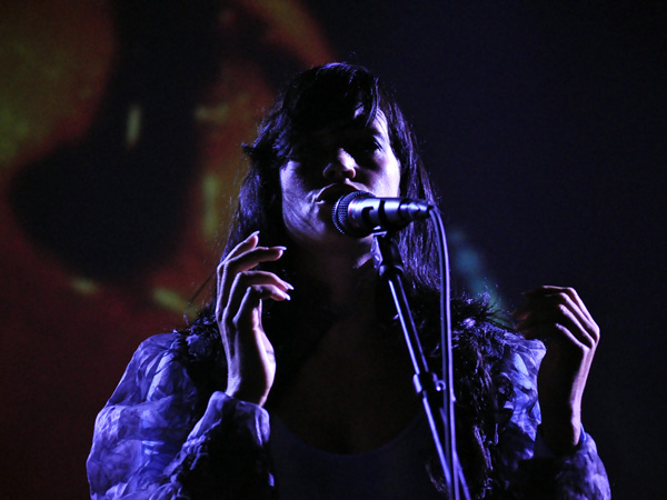Montreux Jazz Festival 2010: Cocorosie (alternative pop from USA), July 17, Miles Davis Hall.
