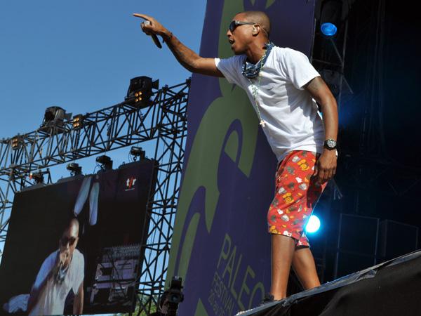 Paléo Festival 2010, Nyon: N*E*R*D, July 20, Grande Scène.