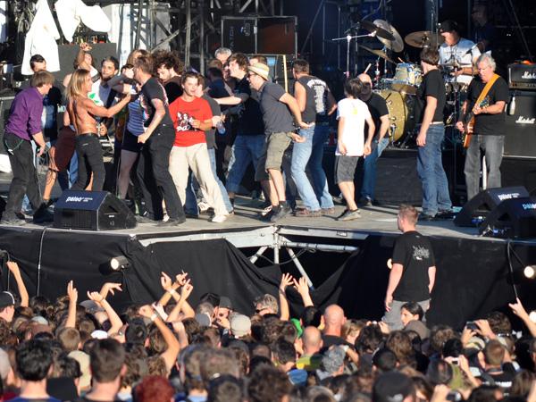 Paléo Festival 2010, Nyon: Iggy & the Stooges, July 20, Grande Scène.