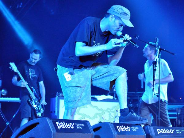 Paléo Festival 2010, Nyon: Le Peuple de l'Herbe, July 20, Chapiteau.