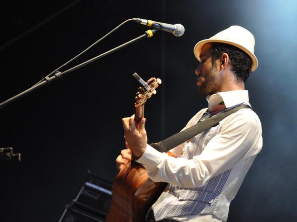 Paléo Festival 2010, Nyon: Charlie Winston, July 21, Grande Scène.