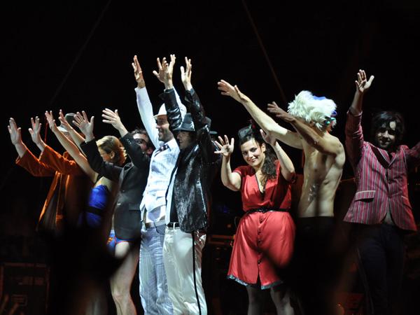 Paléo Festival 2010, Nyon: -M- (Mathieu Chédid), July 21, Grande Scène.