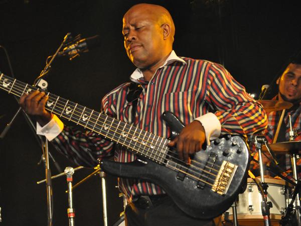 Paléo Festival 2010, Nyon: Hugh Masekela, July 22, Le Dôme.