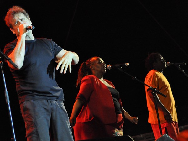 Paléo Festival 2010, Nyon: Johnny Clegg, July 22, Grande Scène.